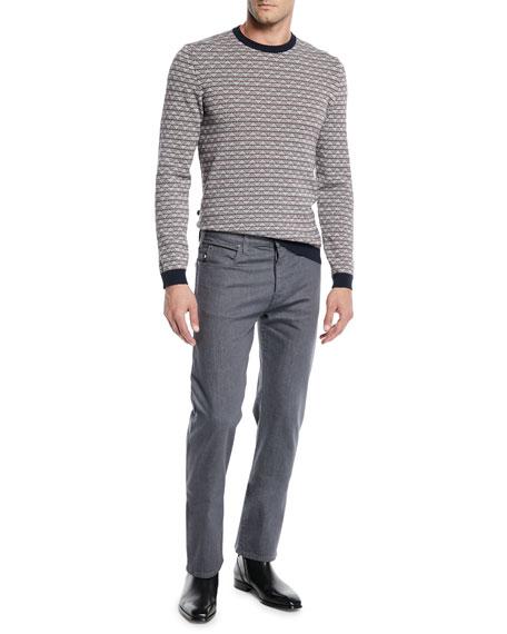 Emporio Armani Men's Stretch-Twill 5-Pocket Pants