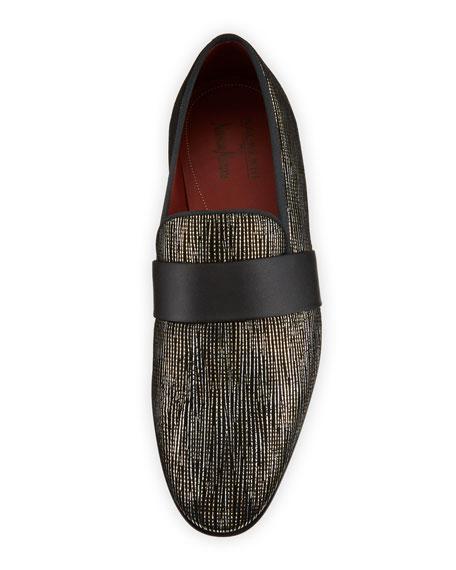 Magnanni for Neiman Marcus Men's Velvet Formal Loafers