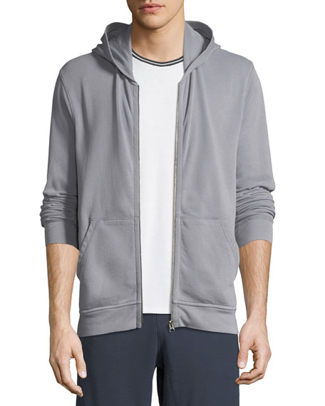 ATM Anthony Thomas Melillo Men's French Terry Zip-Front