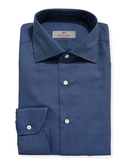 Canali Dobby Neat Dress Shirt