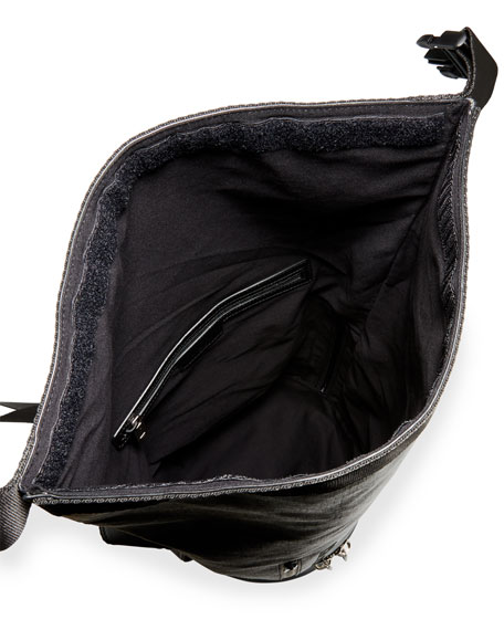Givenchy Men's Jaw Large Faux-Leather Hybrid Bag