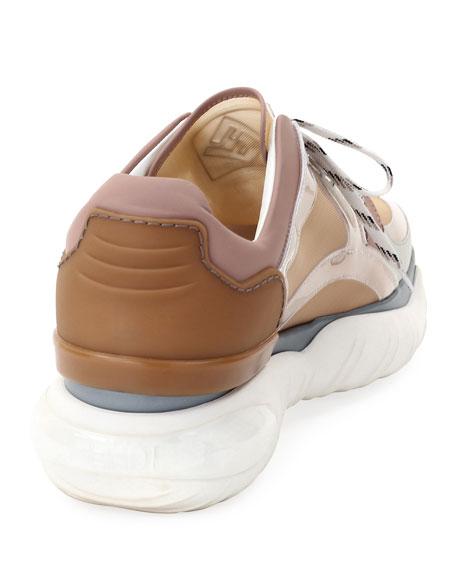 Men's Runway PVC & Mesh Training Sneakers