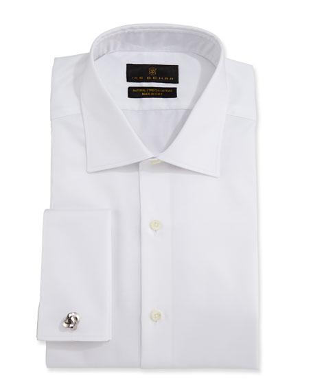 Ike Behar Men's Marcus Twill French-Cuff Dress Shirt