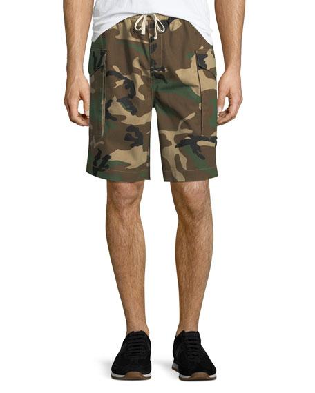 Ovadia & Sons Men's Tribeca Camo Cargo Shorts