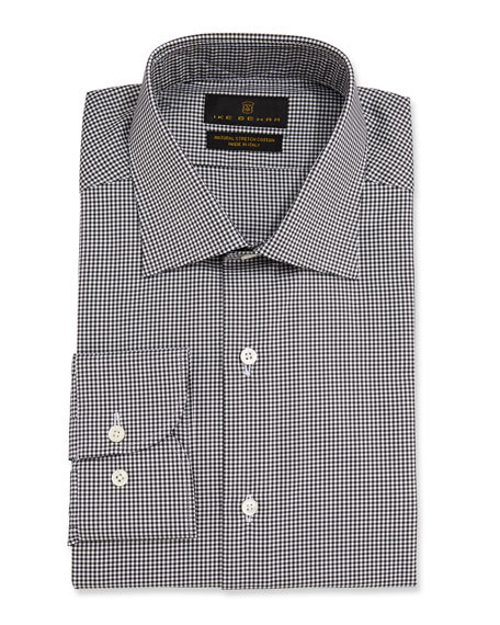 Ike Behar Men's Marcus Check Barrel-Cuff Dress Shirt