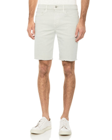 Joe's Jeans Men's Frayed-Hem Bermuda Shorts