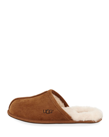 Men's Scuff Shearling Mule Slipper