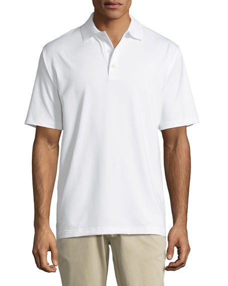 E4 Midnight Stretch Polo Shirt