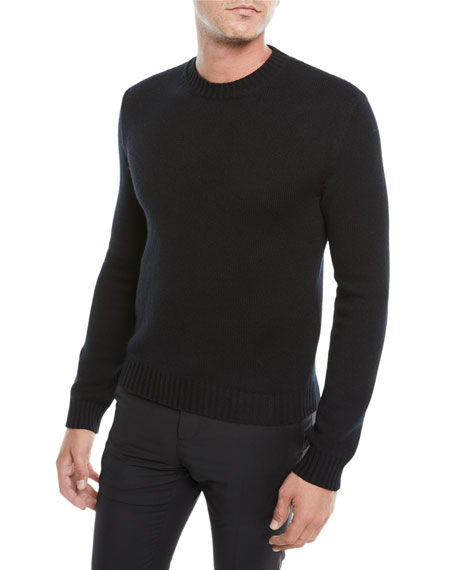 Men's Crewneck Cashmere Pullover Sweater