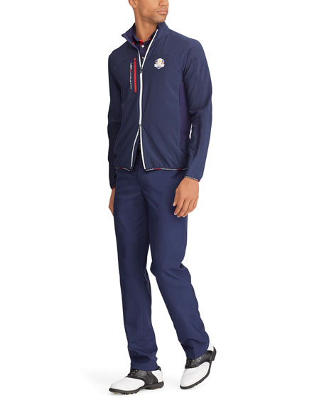 Ralph Lauren Men's Ryder Cup Zip-Front Layering Golf