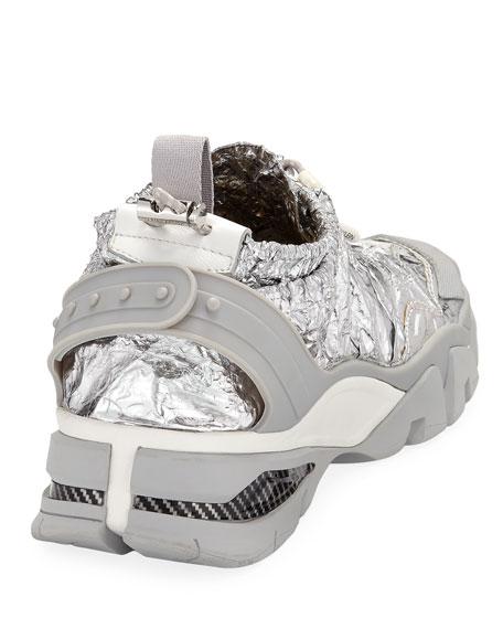 CALVIN KLEIN 205W39NYC Men's Carsdat 8 Space Blanket Trainer Sneakers