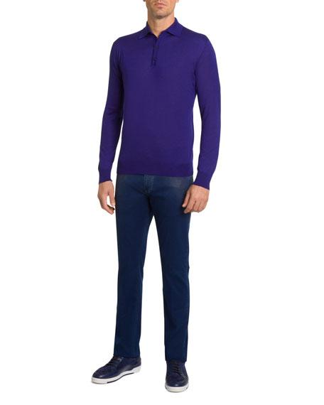 Stefano Ricci Men's Cashmere Polo Sweater