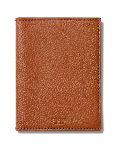 Shinola Men's Leather Travel Boxed Gift Set