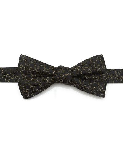Men's Mickey's 90th Anniversary Silk Bow Tie