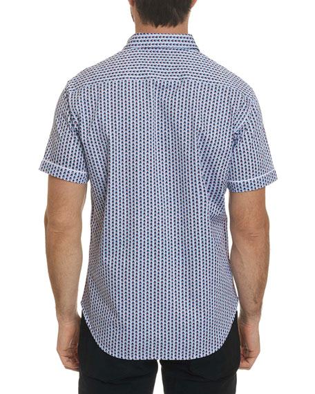 Men's Westward Mini-Print Short-Sleeve Sport Shirt