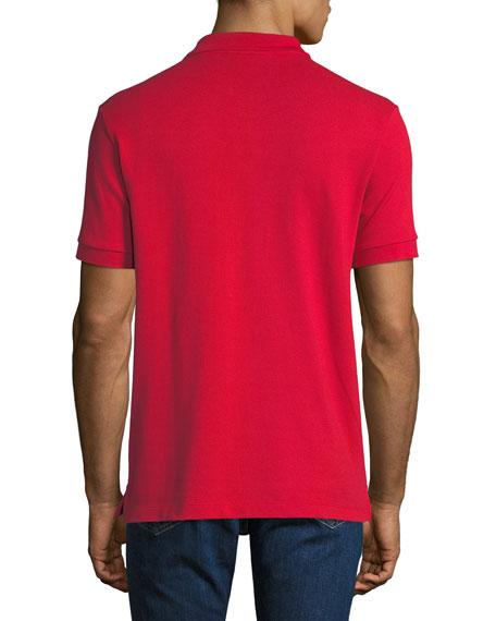 Burberry Men's Hartford Polo Shirt, Red