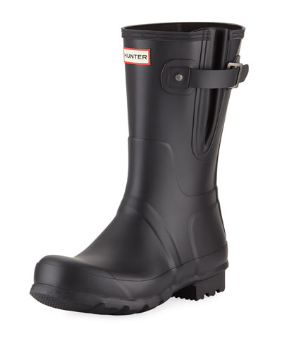 Men's Original Side-Adjustable Short Boot  Black