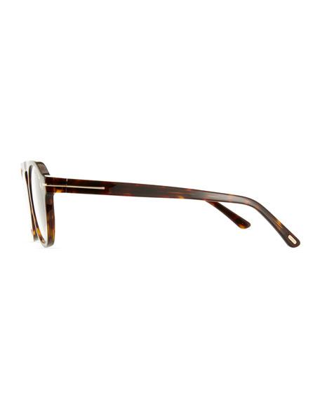 6d9f4b10798c TOM FORD Men's Round Optical Glasses w/ Magnetic Clip On Blue-Block ...
