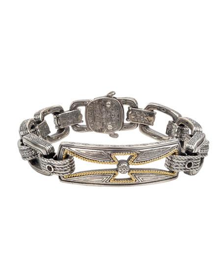 Konstantino Men's Stavros Cross-Cutout Bracelet