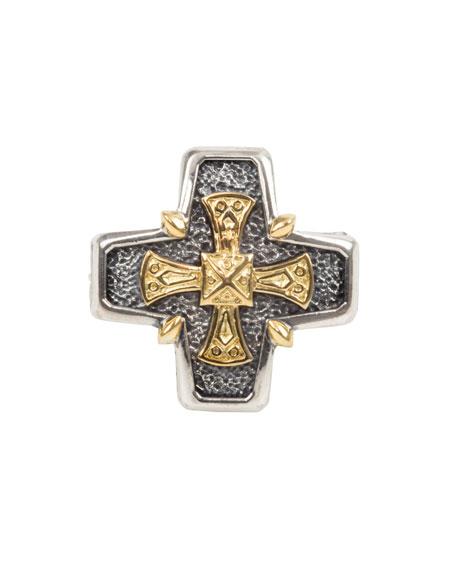 Konstantino Men's Stavros 18k Gold Cross Ring