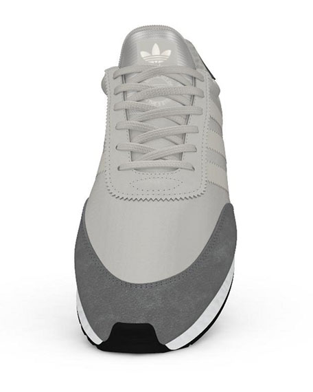 Adidas Men's I-5923 Trainer Sneakers, White/Gray