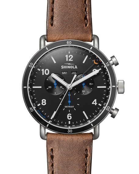 Shinola MEN'S LIMITED EDITION 47MM CANFIELD SPORT WATCH