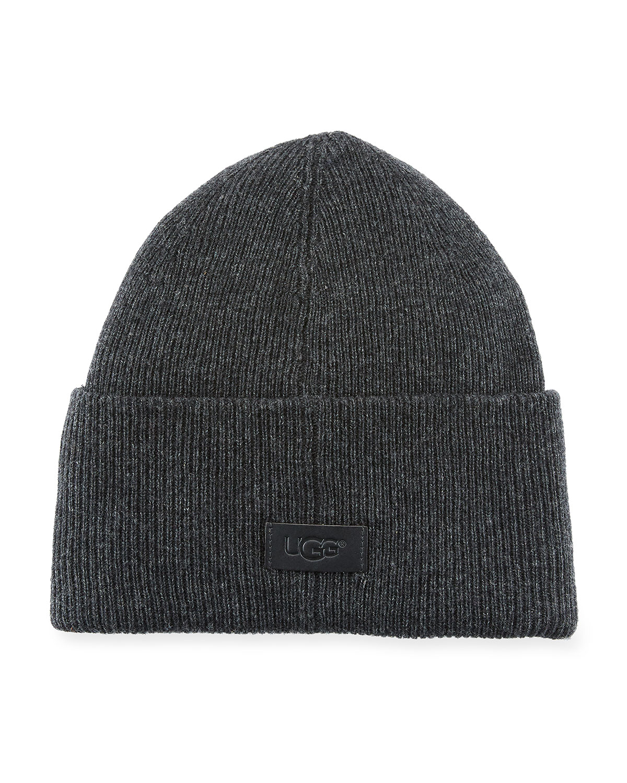 04dbebd2923 UGG Men s High-Cuff Wool Beanie Hat