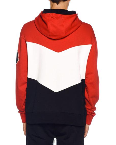 Men's Tricolor Jersey Hoodie Sweatshirt