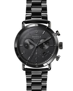 bc8285925e173 Shinola Men s 40mm Canfield Sport Ceramic Bracelet Watch
