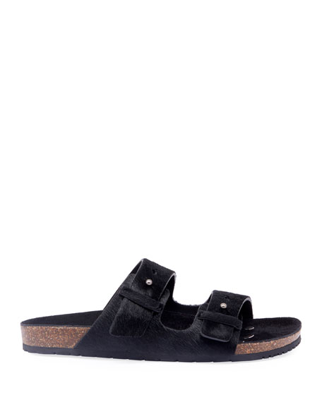 Image 2 of 3: Men's Jimmy 2Bridle Calf-Hair Sandals