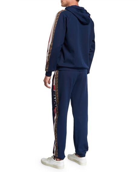Fendi Men's Fendi Mania Two-Piece Side-Stripe Jersey Track Suit