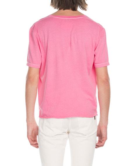 Saint Laurent Men's Logo T-Shirt