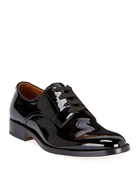 Givenchy Men's Rider Lace-Up Derby Shoes in Leather