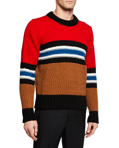 Burberry Men's Burrows Wool Sweater