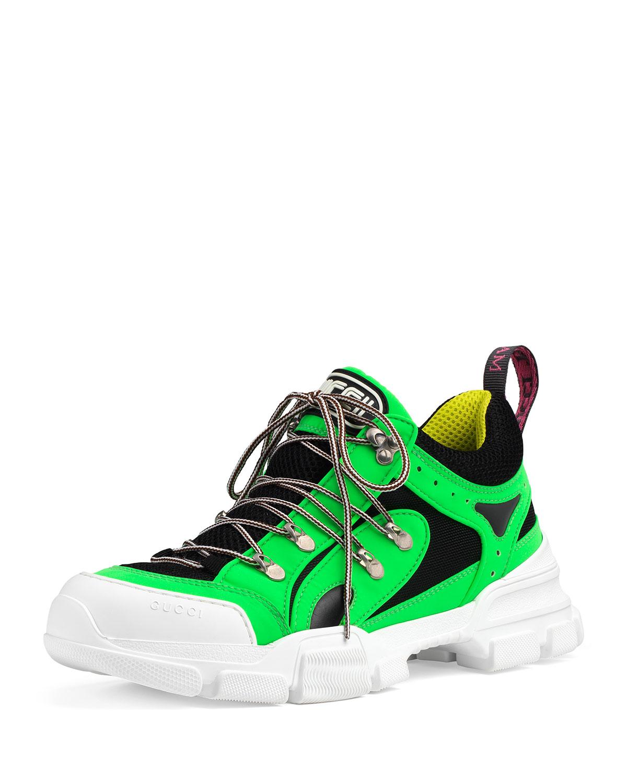 06fb6f620f7 Gucci Men s Flashtrek Reflective Sneakers