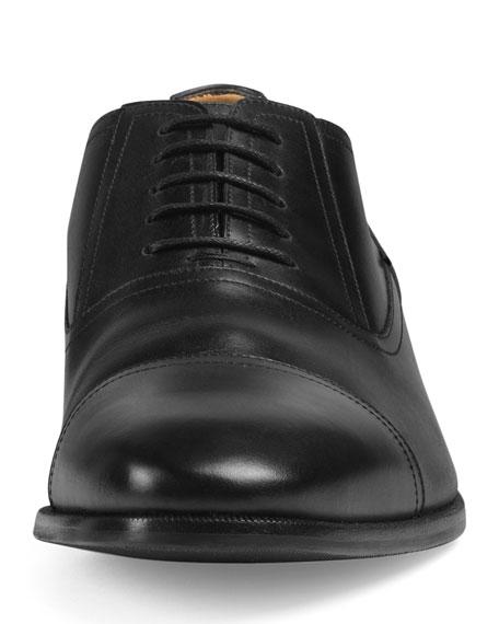 Gucci Men's Leather Lace-Up Shoes