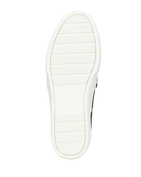 Vince Men's Fenton Perforated Suede Low-Top Sneakers