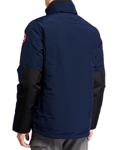 Image 4 of 5: Canada Goose Men's Forester Water-Resistant Jacket