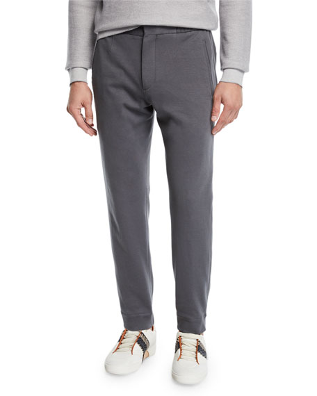 Ermenegildo Zegna Men's Knit Jogger Trouser Pants