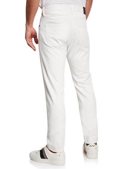 Ermenegildo Zegna Men's 5-Pocket Straight-Leg Jeans