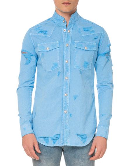 Balmain Men's Western Shirt