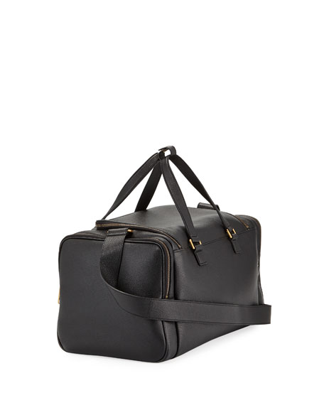 Image 3 of 3: Gucci Men's Gucci-Print Leather Duffel Bag