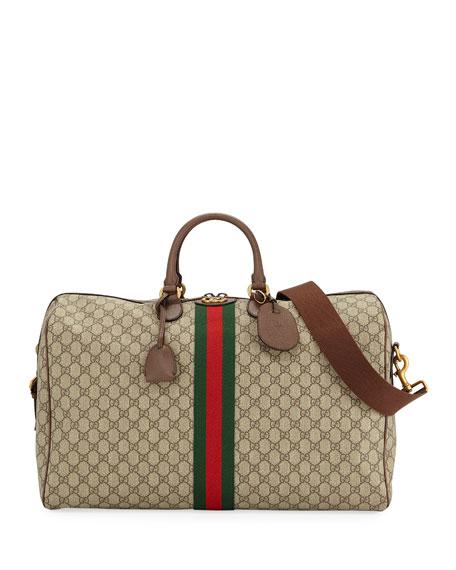 Gucci Men's Ophidia GG Supreme Duffel Bag