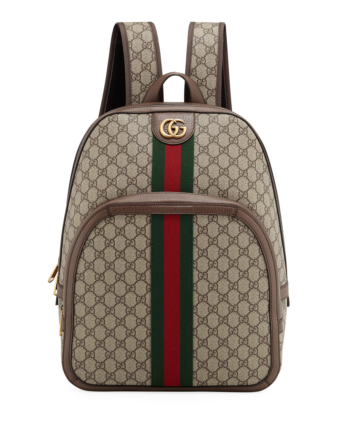 db3fbe345 Gucci Men's GG Supreme Medium Canvas Backpack | Neiman Marcus
