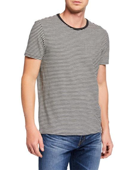 ATM Anthony Thomas Melillo Men's Striped Cotton T-Shirt