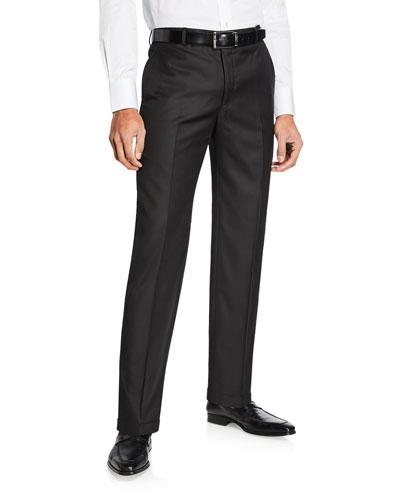 Men's Traveler Solid Trousers