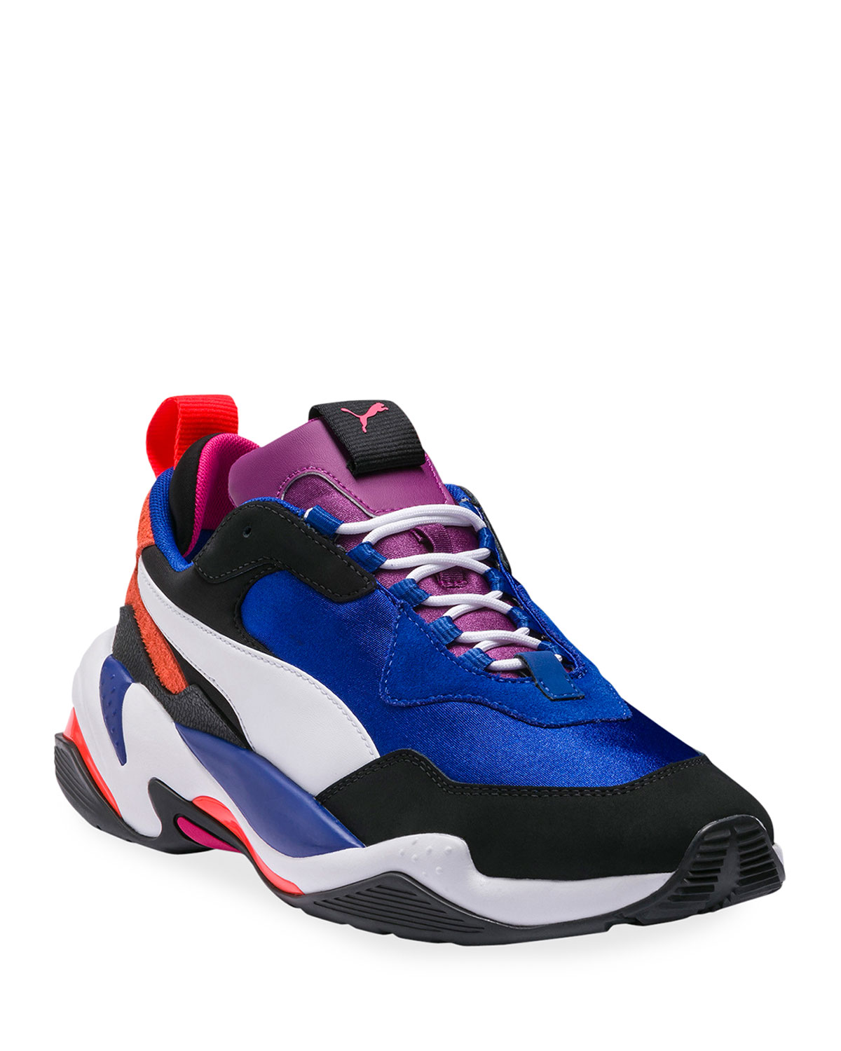 Men's Thunder 4 Life Leather Trainer Sneakers