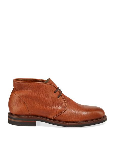 Brunello Cucinelli Men's Leather Chukka Boots
