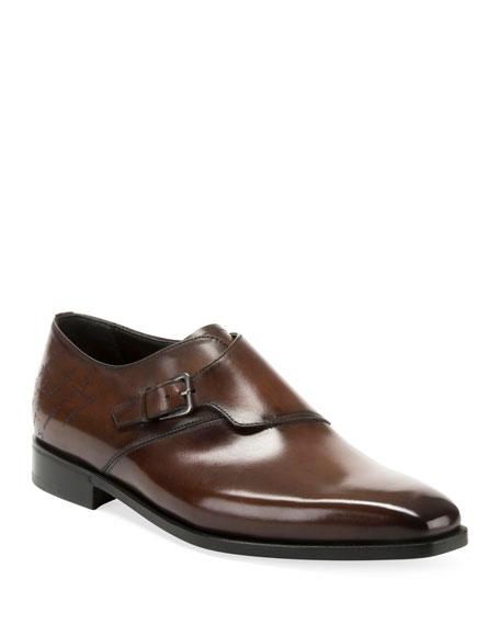 Berluti Men's Venezia Scritto Loafers