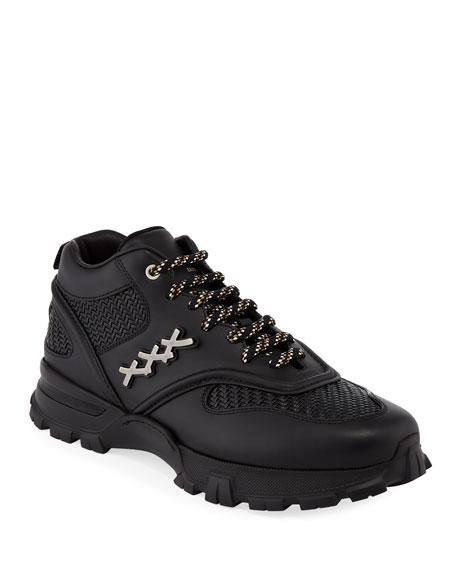 Ermenegildo Zegna Men's Cesare Low Top Hiker Sneakers